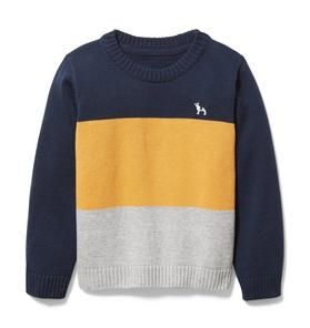 Colorblocked Pullover