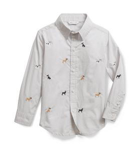 Embroidered Frenchie Shirt