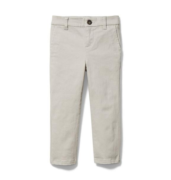Twill Slim Pant