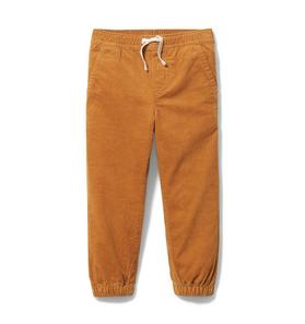 Corduroy Pull On Jogger
