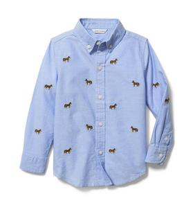 Horse Oxford Shirt