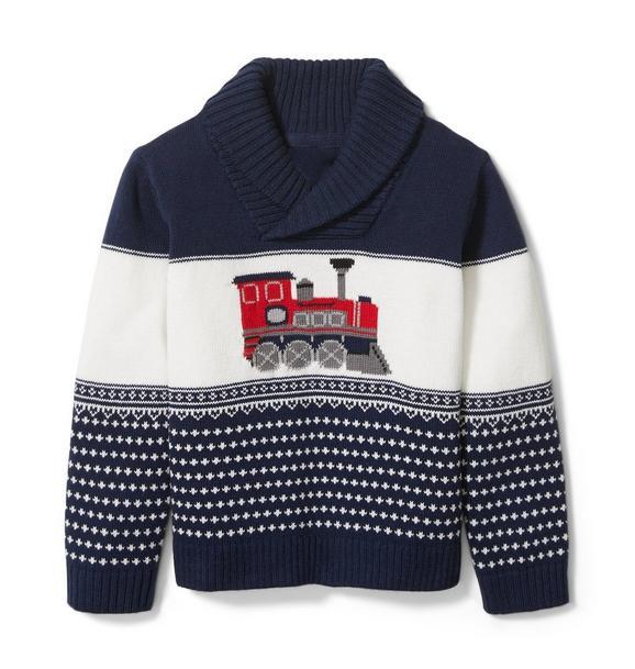 Train Shawl Pullover