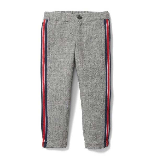 Wool Side Stripe Jogger