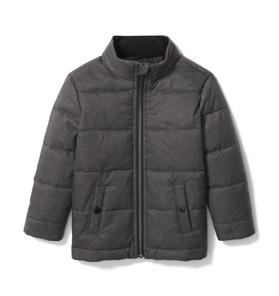 Water Resistant Puffer Jacket