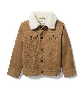 Corduroy Sherpa Collar Jacket