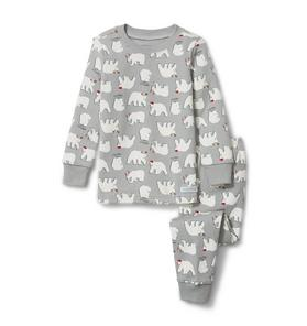 Polar Bear Pajama Set