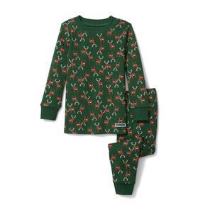 Reindeer Pajama Set