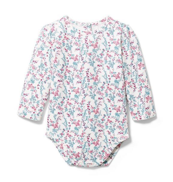Baby Floral Bodysuit