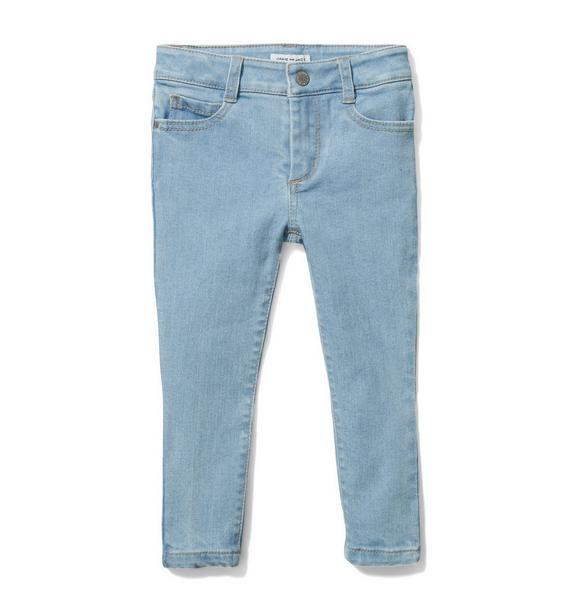 Skinny Jean In Bright Sky Wash