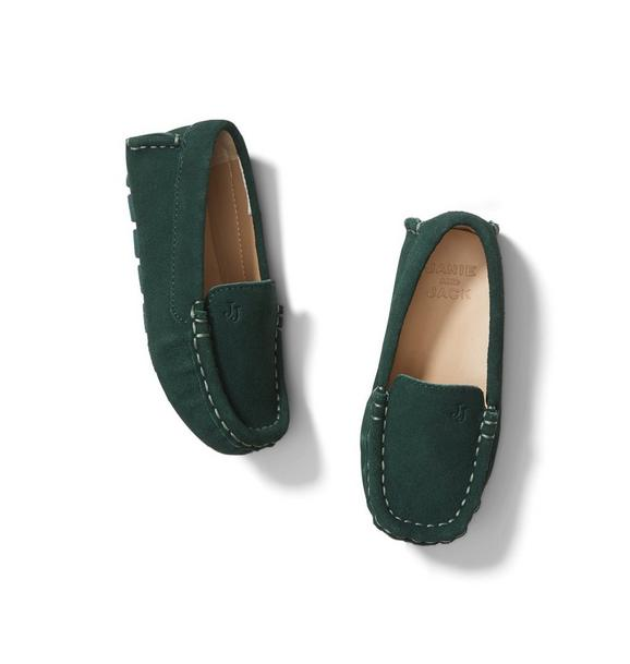 Janie and Jack Suede Driving Shoe