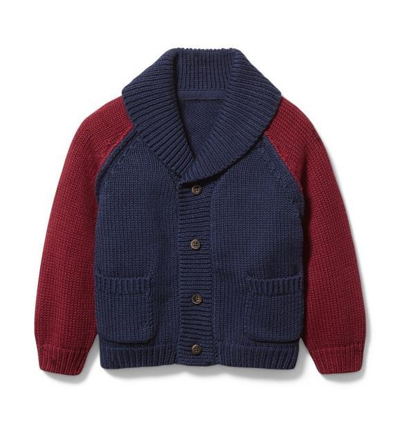 Baby Colorblocked Cardigan