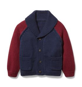 Baby Colorblocked Cardigan