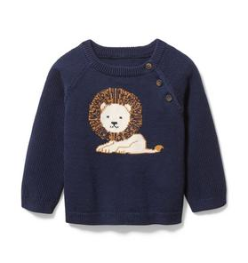 Baby Lion Sweater
