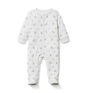 Baby Lion Footed 1-Piece