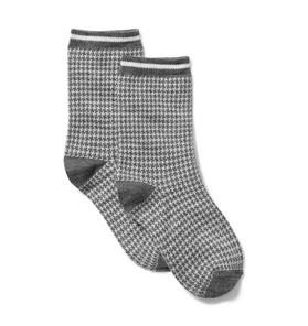 Houndstooth Sock