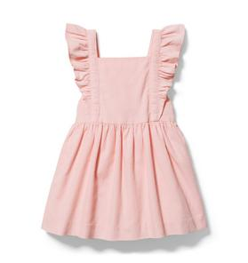 Baby Ruffle Corduroy Dress