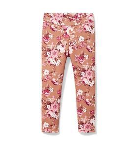 Floral Ponte Pant