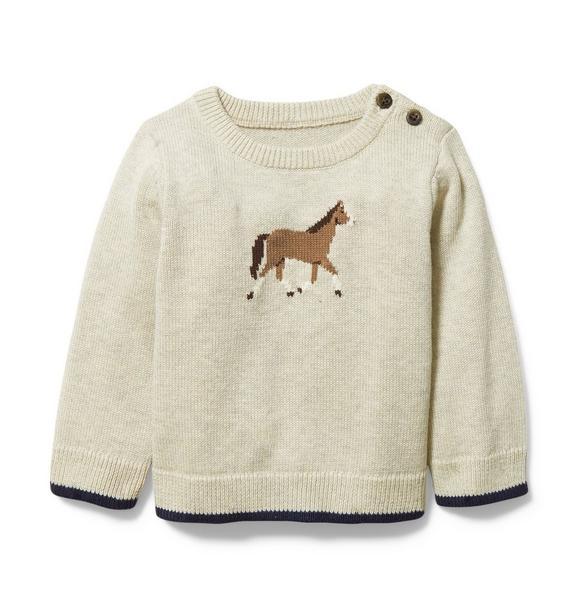 Baby Horse Sweater