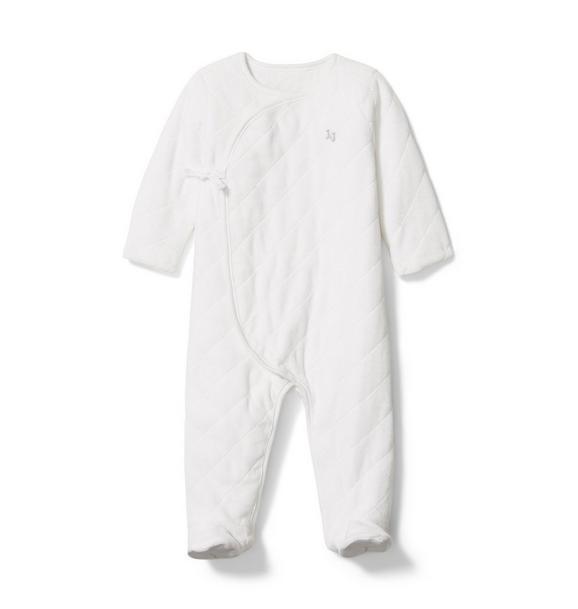 Baby Velour Kimono 1-Piece