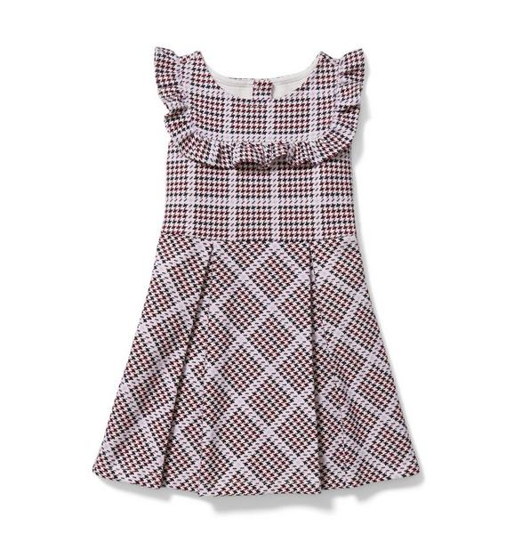 Houndstooth Ponte Dress