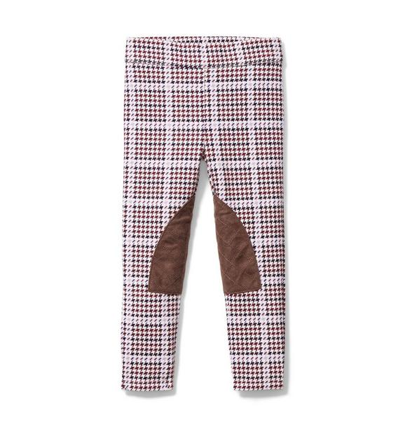 Houndstooth Riding Pant