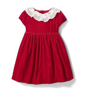 Baby Velour Dress