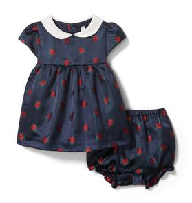 Baby Rose Matching Set