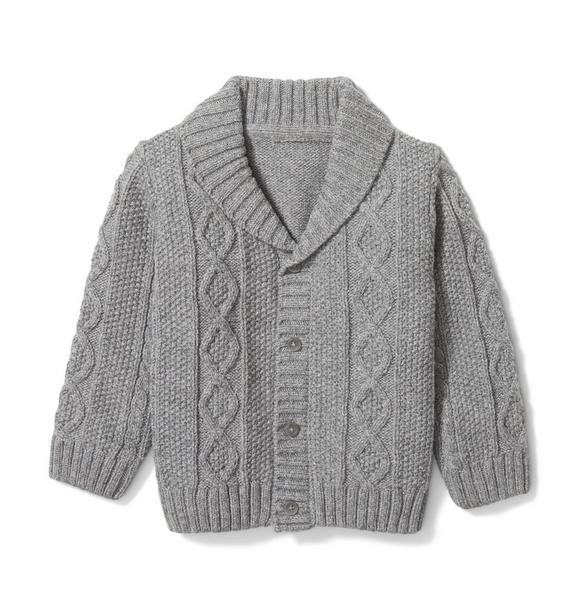Baby Cable Knit Cardigan