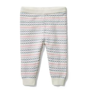 Baby Fair Isle Sweater Pant
