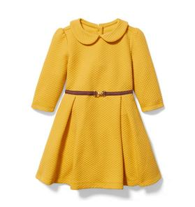 Collared Quilted Dress