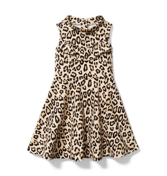 Leopard Ponte Dress