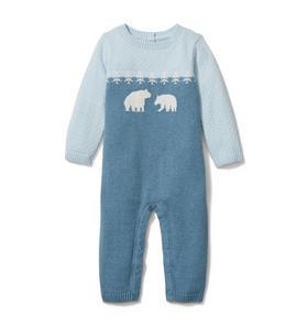 Baby Bear Sweater 1-Piece