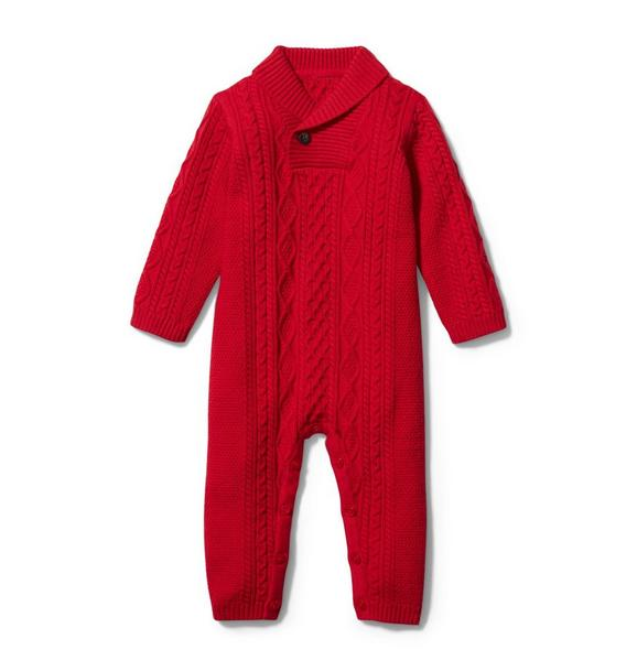 Baby Cable Knit 1-Piece