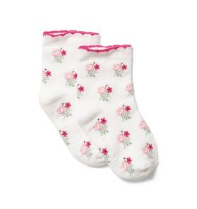 Baby Floral Sock