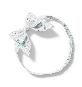 Baby Floral Bow Soft Headband