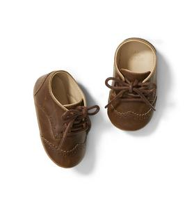 Baby Wingtip Crib Shoe