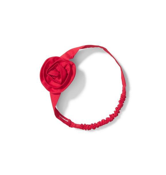 Baby Soft Rosette Headband