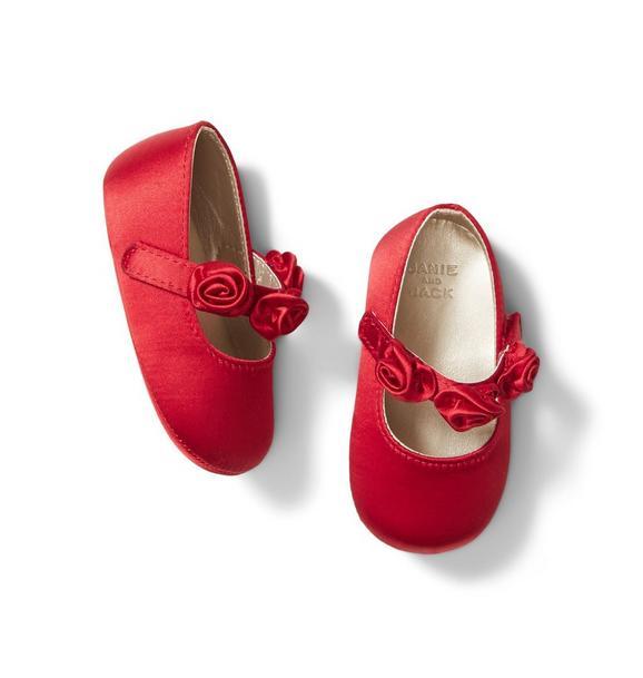 Baby Rosette Crib Shoe