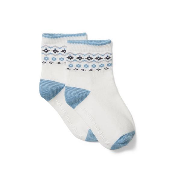 Baby Fair Isle Sock
