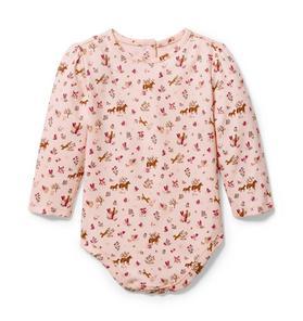 Baby Horse Print Bodysuit