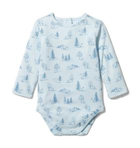Baby Woodland Print Bodysuit