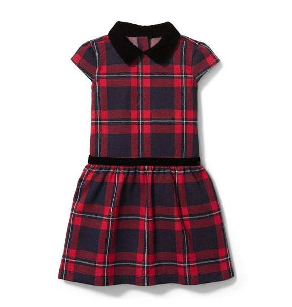 Plaid Jacquard Dress