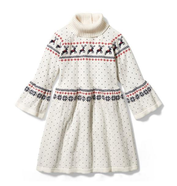 Reindeer Sweater Dress