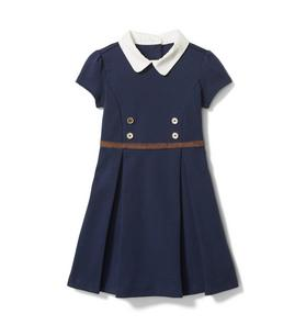 Collared Ponte Dress