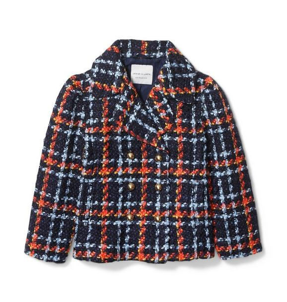 Plaid Bouclé Jacket