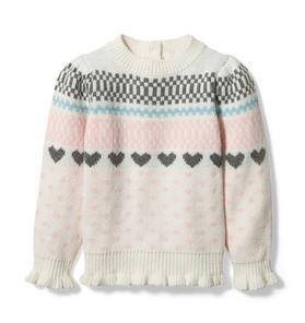 Heart Fair Isle Sweater