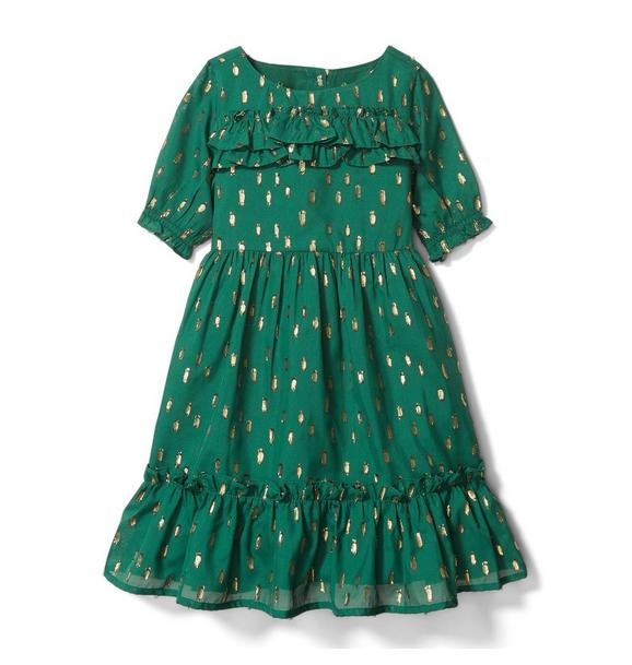 Fil Coupe Dress
