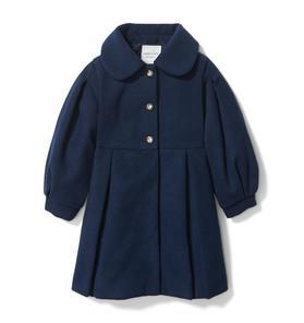 Puff Sleeve Coat