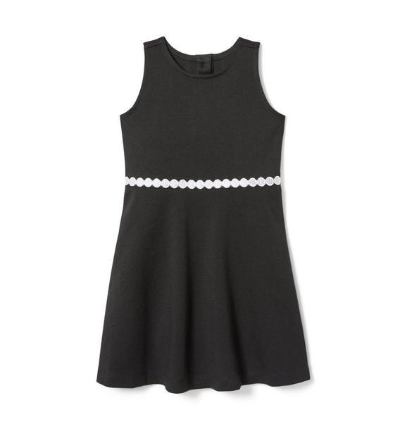 Dot Belt Ponte Dress