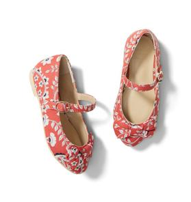Floral Bow Flat